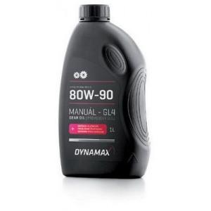Трансмиссионное масло 80W-90 GL4 1L DYNAMAX 501624
