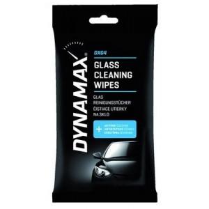 Niisutatud puhastuslapid klaasile 24tk DYNAMAX 618503