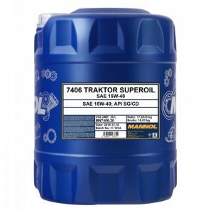Mineraalne õli MANNOL Traktor Superoil 15W40 20L