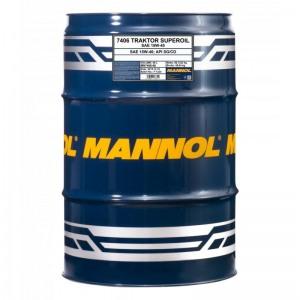 Mineraalne õli MANNOL Traktor Superoil 15W40 60L