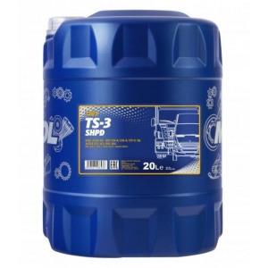 Poolsünteetiline mootoriõli MANNOL TS-3 SHPD 10W40 20L