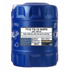 Poolsünteetiline õli MANNOL TS-12 SHPD 10W30 20L