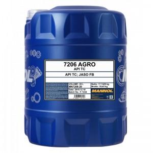 Kahetaktiline mineraalne õli MANNOL Agro 20L