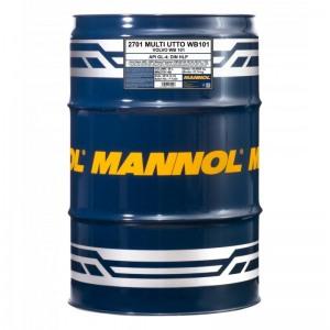 Traktoriõli MANNOL Multi UTTO WB 101 60L