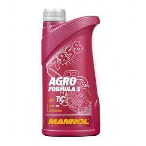 Kahetaktiline õli MANNOL 1L Agro Formula S API TC