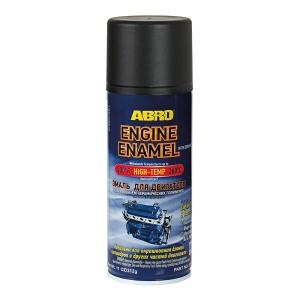 EE-555-BLK Краска-эмаль для двигателя черная 312мл ABRO