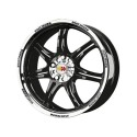 Valuvelg R16 7 ET35 5x108 MOMO Corse Glossy Black