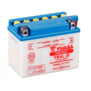 Стартерная аккумуляторная батарея YUASA YB4L-B