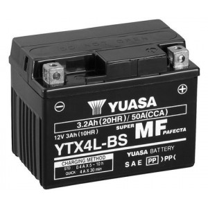 Стартерная аккумуляторная батарея YUASA YTX4L-BS