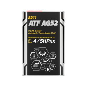 Масло для автоматических коробок передач MANNOL ATF AG52 1L