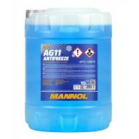Охлаждающая жидкость MANNOL AG11 Antifreeze -40°C 20L, тосол синий