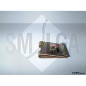 764 Зажим металлический T14mm/F12mm/H5mm/d3.50mm