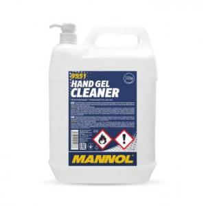 Hand Gel Cleaner – дезинфицирующий и очищающий гель для рук 5L MANNOL 9957 9551