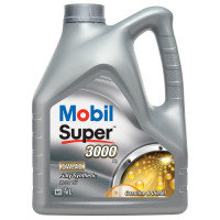 Täissünteetiline mootoriõli MOBIL Super 3000 x1 5W40 4+1L