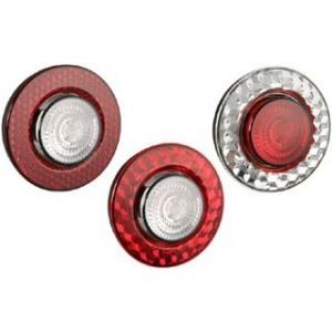 Отражатель круглый красный универсальный WESEM