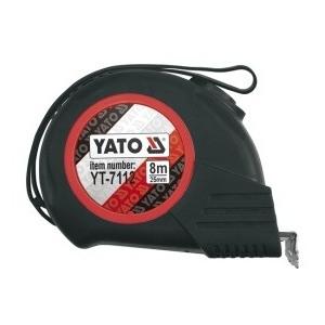 Mõõdulint 8m*25mm (YATO, YT-7112 )
