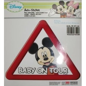 MCKFZ100 kleebis/DISNEY/BABY ON TOUR/MICKIE