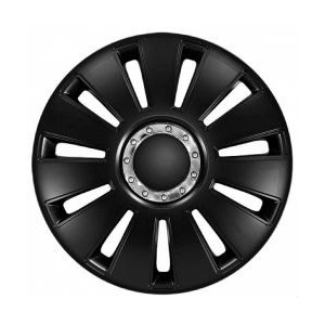Колпаки на колеса (комплект 4тк) SILVERSTONE black-14